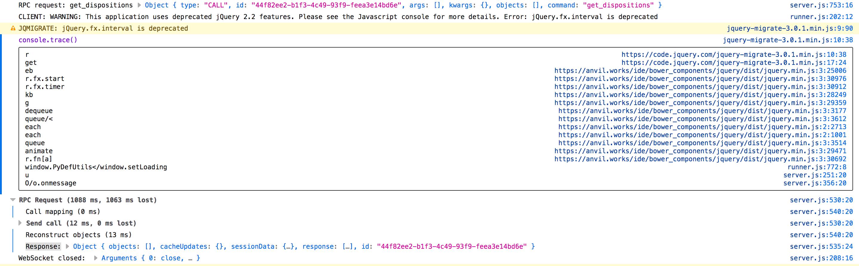 Deprecated jQuery error - Anvil Q&A - Anvil Community Forum